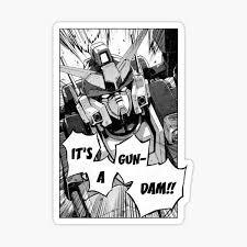 Gundam Stickers Redbubble