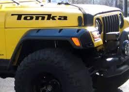 Jeep Tonka Hood Decal Set Plus Free Windshield Banner Gift Tattoosoncars Com