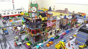 Here is what Ninjago City looks like with other modulars. (Credit ...