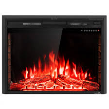 750w 1500w fireplace electric embedded