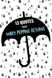 quotes from mary poppins returns to brighten your day • twf