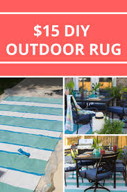 painted rug from a drop cloth