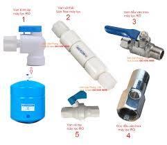 Van bình áp, Van xả, flow, cút đầu vào máy lọc nước RO Karofi ...