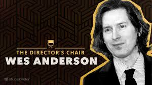 Wes Anderson Explains How to Write & Direct Movies | The Director's Chair -  YouTube