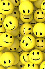 27 wallpaper of smiley faces on