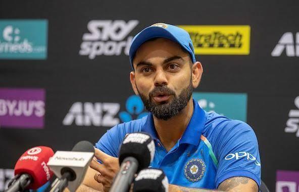 "Image result for India vs New Zealand 4th T20I Virat Kohli PC"""