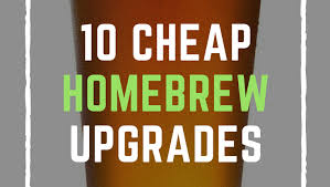 inexpensive homebrewing must have