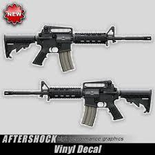 Ar15 Gun Decal Assault Rifle Sticker 556 For Bushmaster Daniel Defense Sig Lwrc Ebay