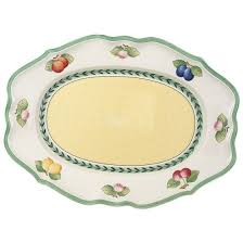 french garden fleurence ovale platte 44