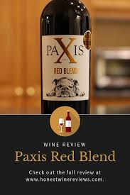 paxis red blend wine review honest