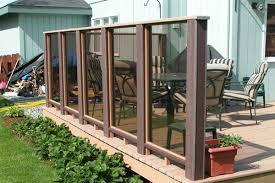 30 Arresting Deck Design Ideas Slodive Outdoor Patio Rooms Deck Design Wind Break