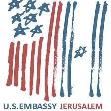 Image result for U.S. Embassy in Jerusalem logo