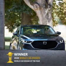 Mazda3 Wins 2020 World Car Design of the