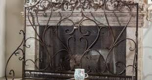 home improvement fireplace screens