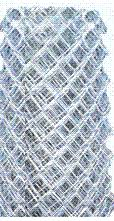 Galvanized Heavy Commercial 2 X 9 Ga X 6 Ft High Mesh 50 Ft Roll Chain Link Fence Fence Material