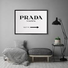 A La Mode Studio Prada Marfa Canvas Wall Art Reviews Temple Webster
