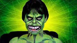 the hulk makeup you