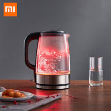 xiaomi glass electric water kettle