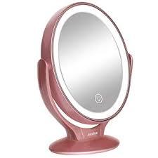 led lighted makeup vanity mirror