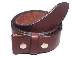 dark brown leather belt strap 2 inch