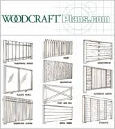 Wood Fence Design Plans Pdf Woodworking