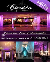chandelier banquet hall mia