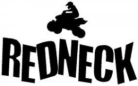 Redneck 4 Wheeler Car Or Truck Window Decal Sticker Or Wall Art Decalsrock