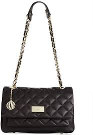 dkny gansevoort quilted flap pocket