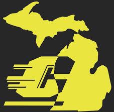 Central Michigan Vinyl Car Window Decal Sticker Etsy