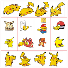 Baby In The Car Warning Stickers Pokemon Funny Pikachu Collide Glass 3d Vinyl Decals On Wall Door Window Decoration Accessories Decorative Films Aliexpress
