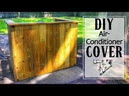 How To Make A Privacy Fence For Your Air Conditioner One Day Build Woodworking Youtube