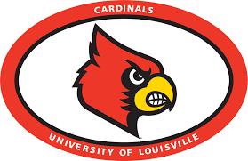 6 Euro Louisville Cardinal Head Vinyl Decal Wesellspirit Com