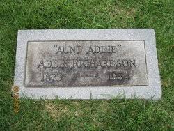 Addie Richardson Richardson (1879-1954) - Find A Grave Memorial