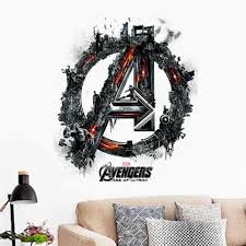 2015 3d Avengers Vinyl Wall Stickers For Kids Rooms Pvc Wall Decals Home Decor Poster Boy S Room Decoration 1456 Sticker For Kids Room Vinyl Wall Stickerswall Stickers For Kids Aliexpress