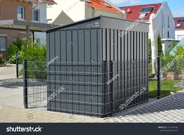 Modern Tool Shed Bike Shed Garden Technology Stock Image 1514147240