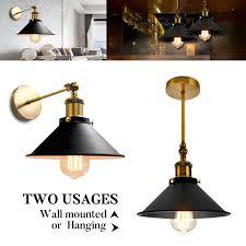 vintage industrial pendant light edison