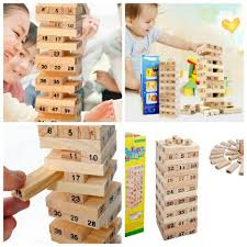 Bộ đồ chơi rút gỗ thông minh Wiss Toy - P53518