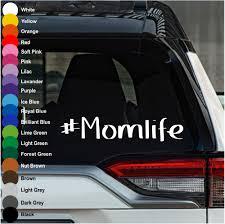 Momlife 1 Car Decal Crazy4decals