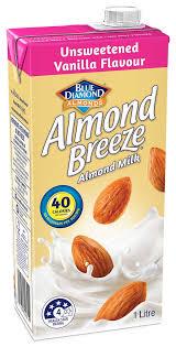 vanilla unsweetened almond milk