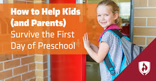 How to Help Kids (and Parents) Survive the First Day of Preschool ...