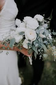 dusty miller eucalyptus bridal