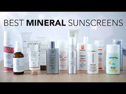 best 100 mineral sunscreens review
