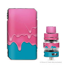 Skins Decals For Voopoo Drag 2 Kit Dripping Ice Cream Drips Itsaskin Com