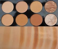 revolution blush contour palette all