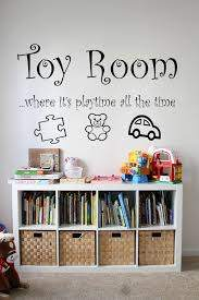 Toy Room Where It S Playtime All The Time Vinyl Wall Etsy Toy Room Decor Kid Room Decor Bedroom Decals