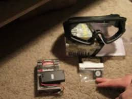 goggles with fan for airsoft paintball