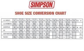 men s shoe size chart and conversion