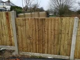 6x4 Feather Edge Panels Heavy Duty Garden Fence Panel 6x4 Ebay
