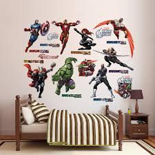 Marvel Avengers Wall Decals Wayfair