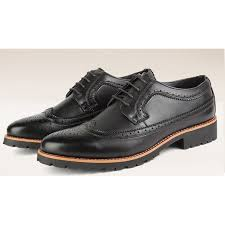 black vintage leather lace up mens
